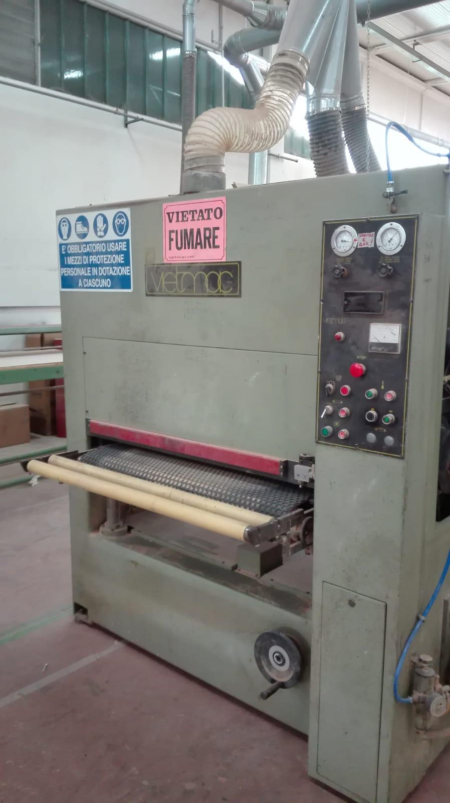 Calibratrice usata per legno Vietmac 1100