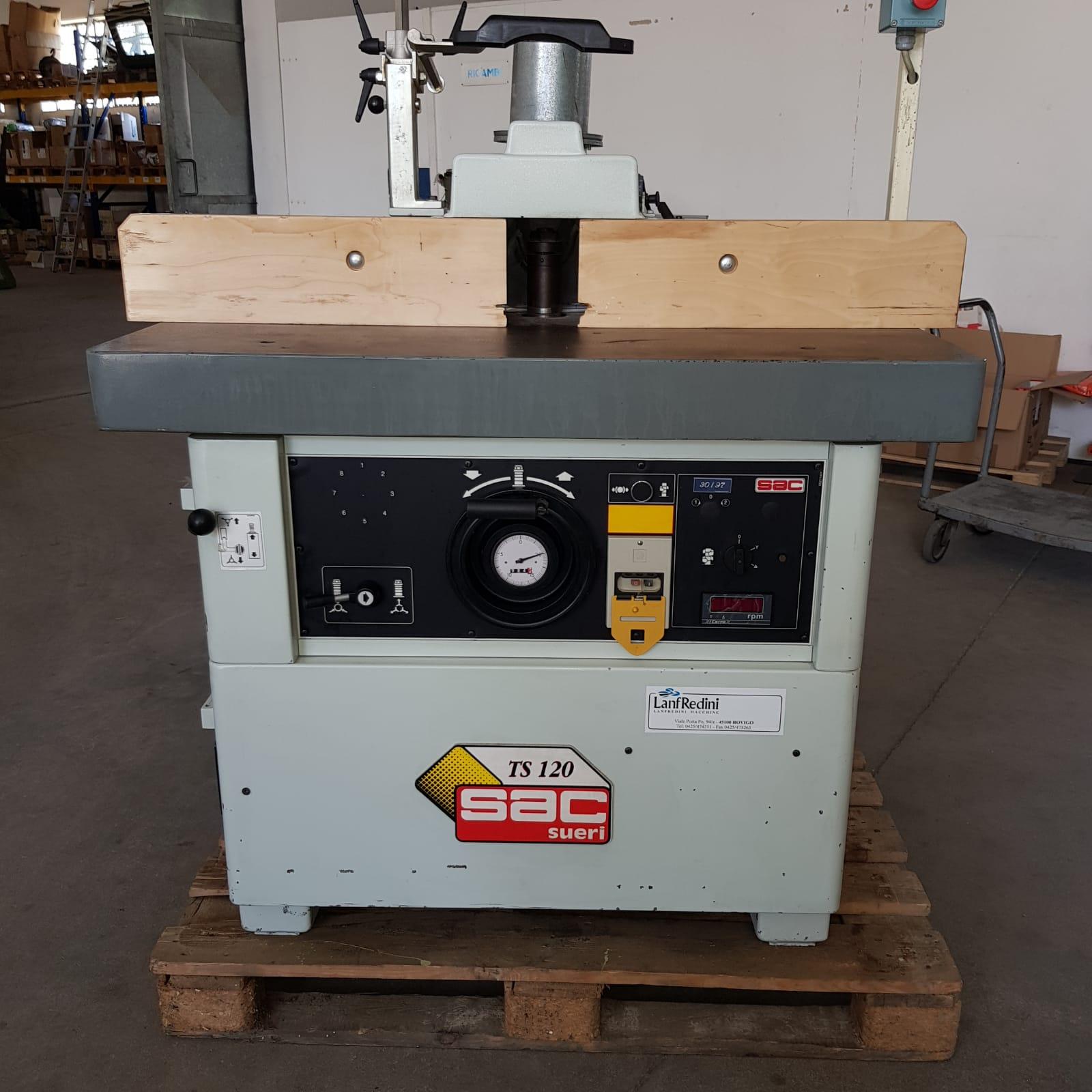 Toupie usata per legno Sac Ts120 Ce