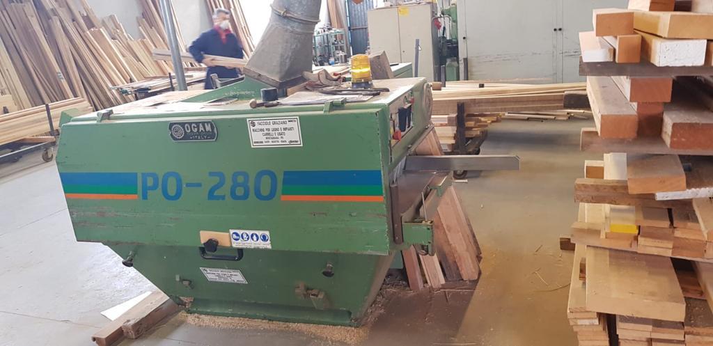 Multilame usato per legno Ogam Po 280 Ce
