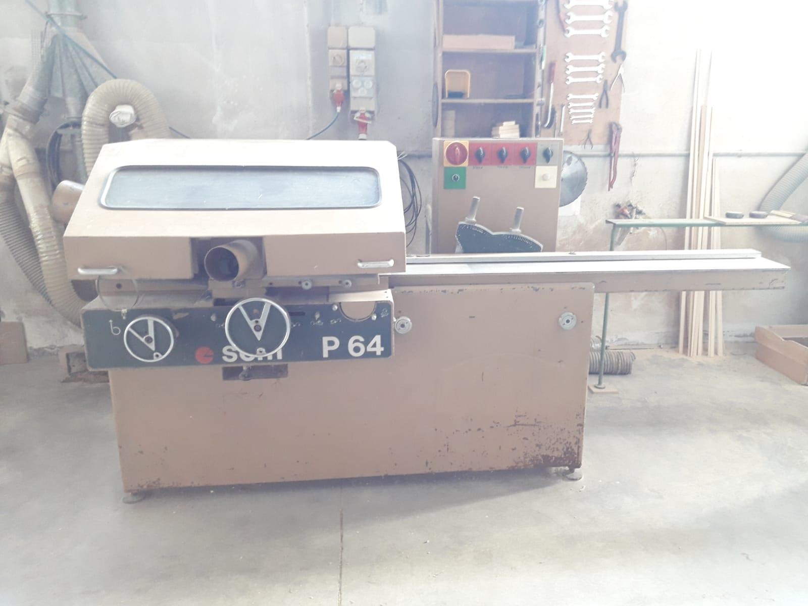 Piallatrice usata per legno SCM P64