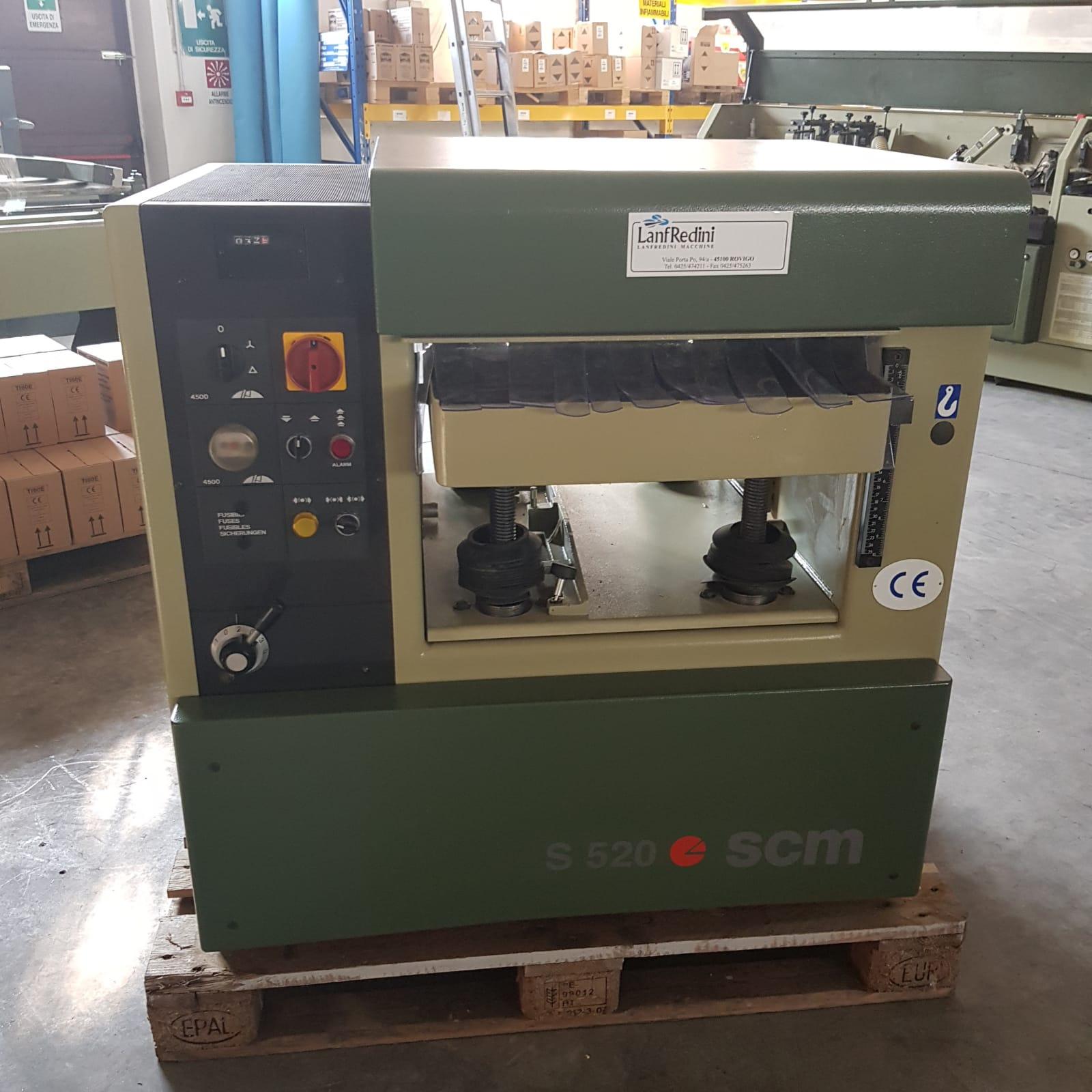 Pialla spessore usata per legnoScm S520 Ce