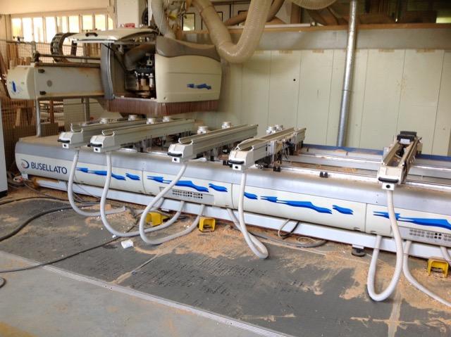 Centro di lavoro usato per legno Busellato Jet 5 Wd XL Ce