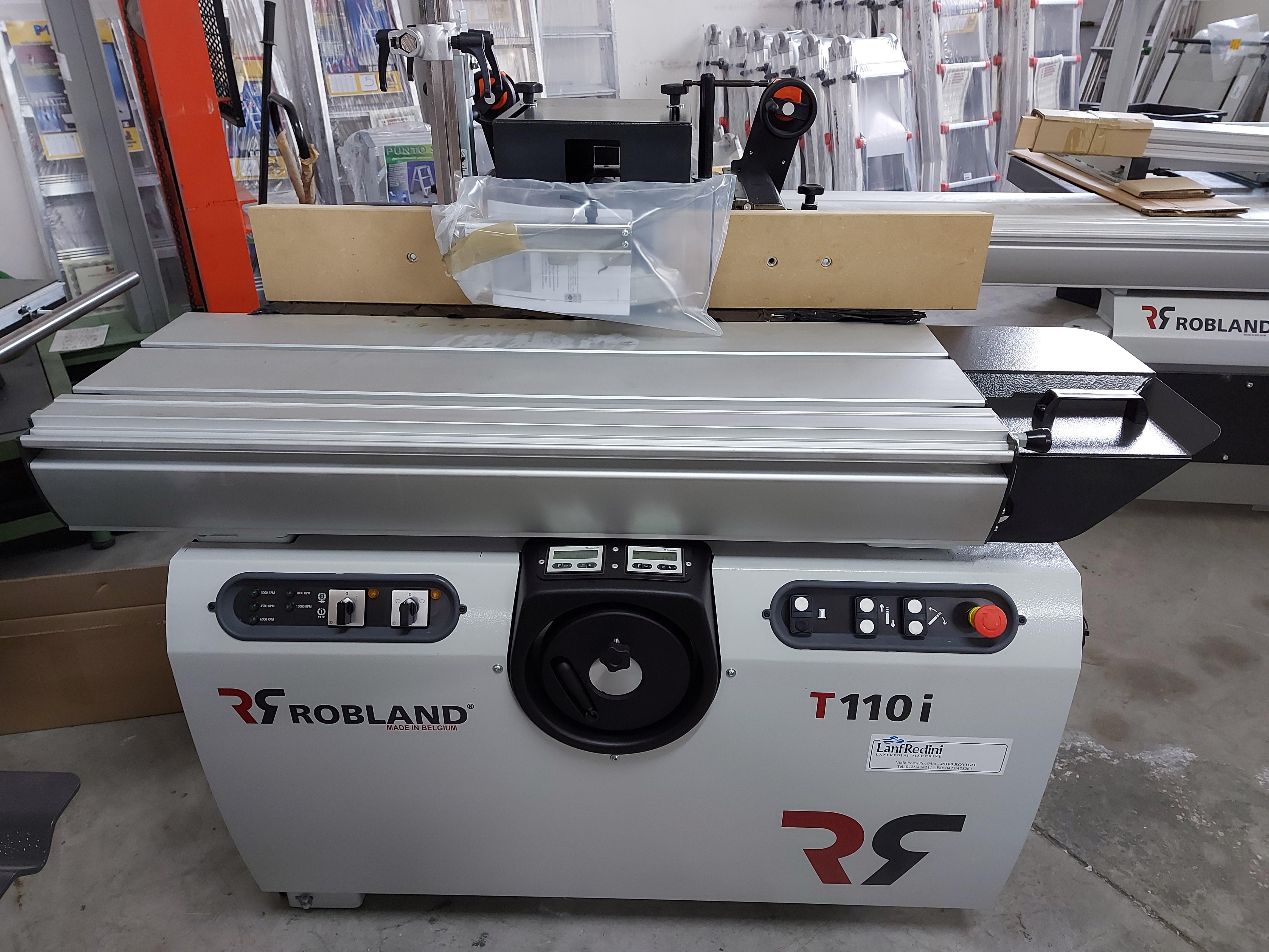 Toupie per legno Robland T110i Ce