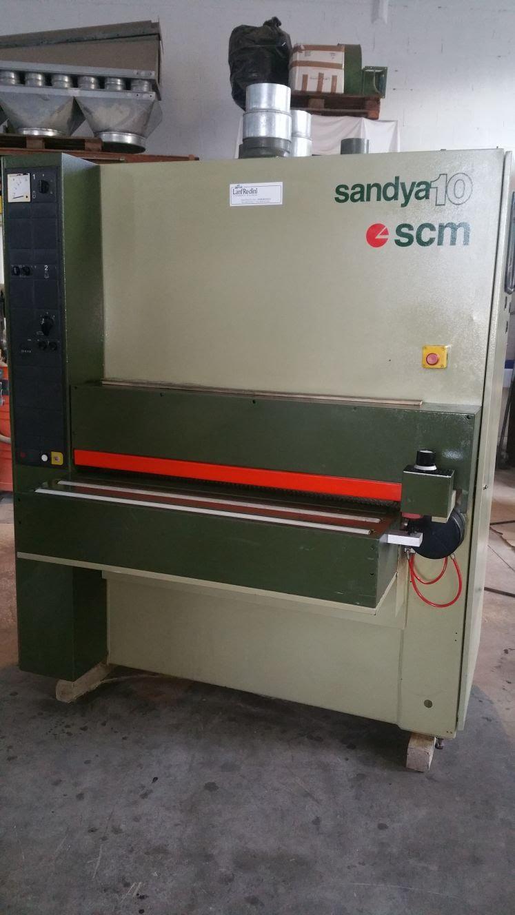 Calibratrice usata per legno SCM SANDYA 10 CE