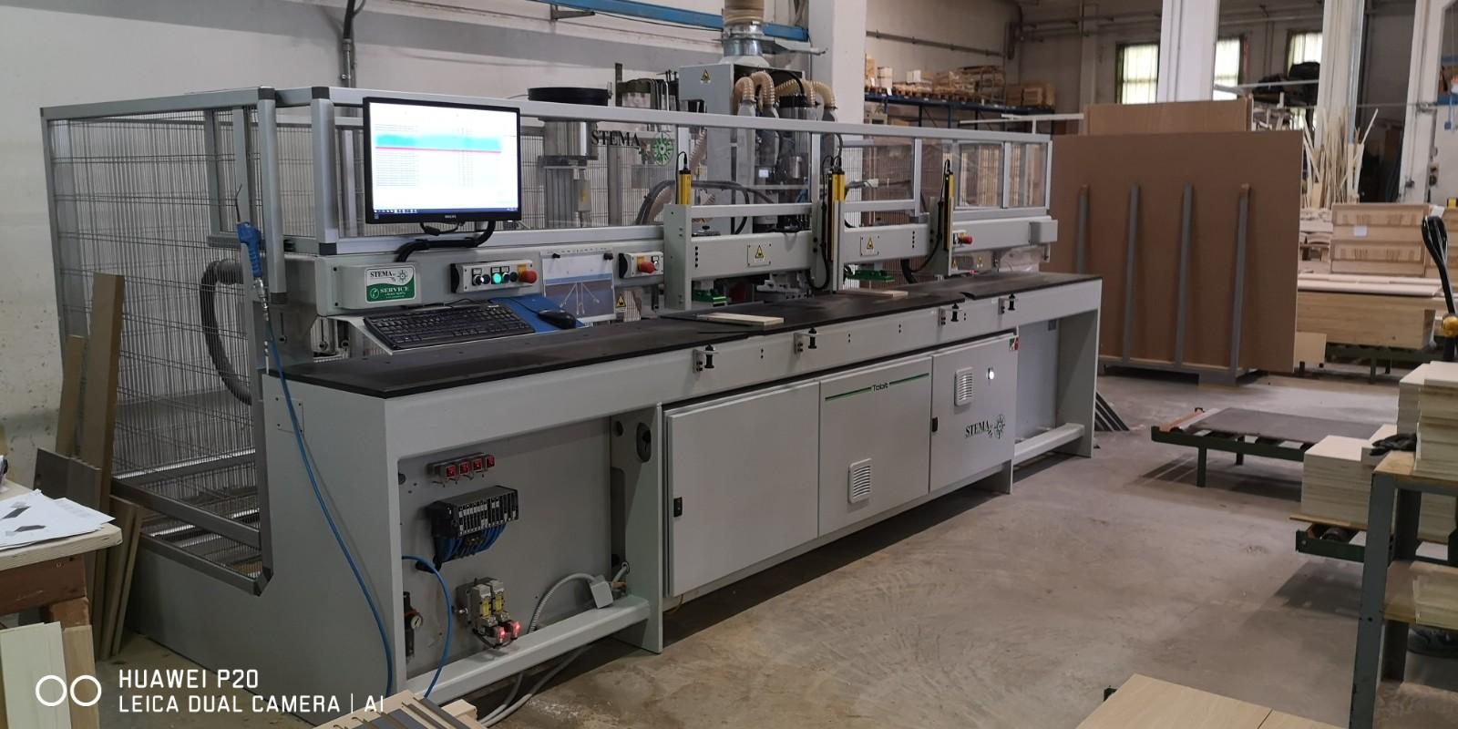 Centro di lavoro usato per legno Stema Tabit 13.03 Ce